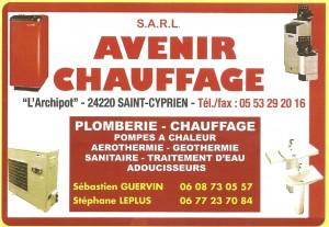 AVENIR CHAUFFAGE - Plomberie - Sanitaire - Chauffage