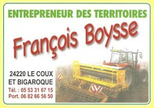 BOYSSE  François