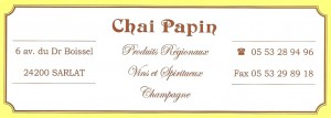 CHAI PAPIN