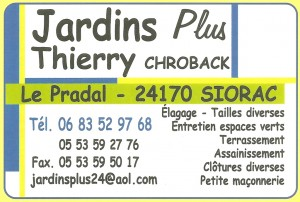JARDIN PLUS Thierry Chroback