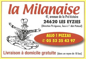 LA MILANAISE - PIZZERIA