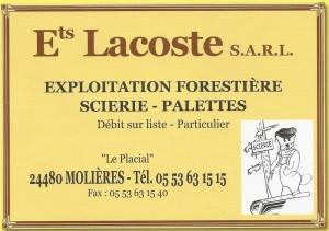 LACOSTE Ets - SARL