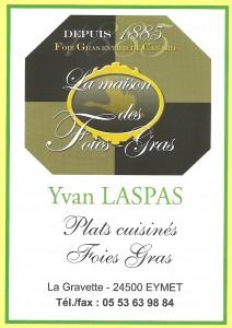 LASPAS Yvan CONSERVERIE