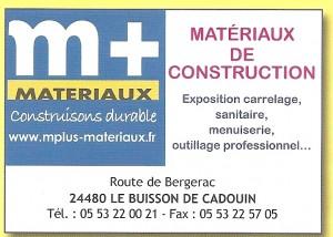 M PLUS MATERIAUX
