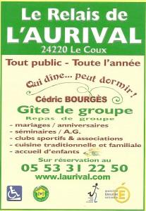 RELAIS DE L'AURIVAL - Bourgès Cédric
