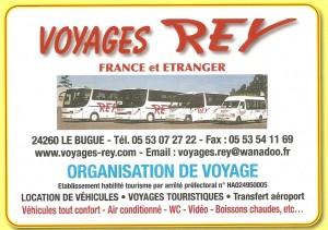 REY  Voyages