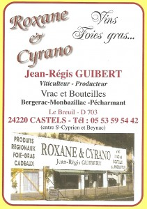 ROXANE ET CYRANO - Jean-Régis Guibert