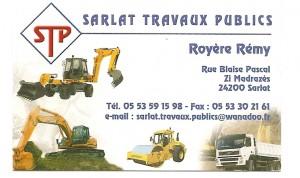 SARLAT TRAVAUX PUBLICS - Royère Rémy