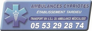 TARDIEU AMBULANCES CYPRIOTES