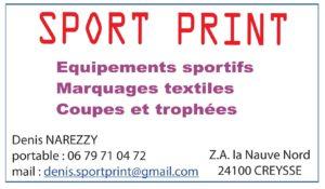 SPORT Print Creysse - Equipement sportif