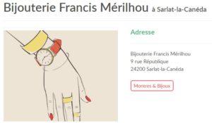 MERILHOU Bijouterie