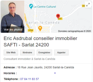 SAFTI Immobilier - Eric Asdubral