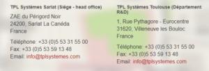TPL Systèmes - Systèmes de communication