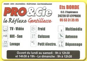 PRO & Cie Ets BORDE