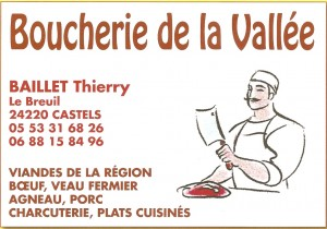 BOUCHERIE DE LA VALLEE