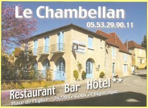 LE CHAMBELLAN