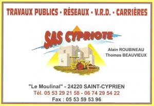 SAS CYPRIOTE - Travaux publics