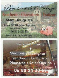 BOUCHERIE DE L'ABBAYE Marc Bougrissa