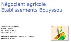 BOUYSSOU Négociant agricole