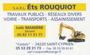 ROUQUIOT Ets - Travaux Publics