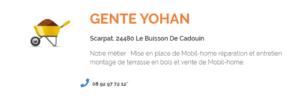 GENTE Yohan - Installations