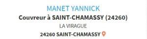 MANET Yannick - Couvreur