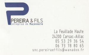PEREIRA & Fils Maçonnerie